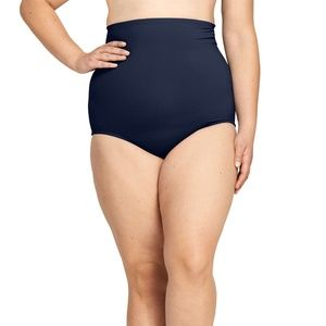 Lands' End 24W New  High Waist Bikini Bottoms